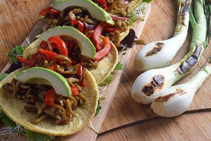 Tacos veggi o pastor