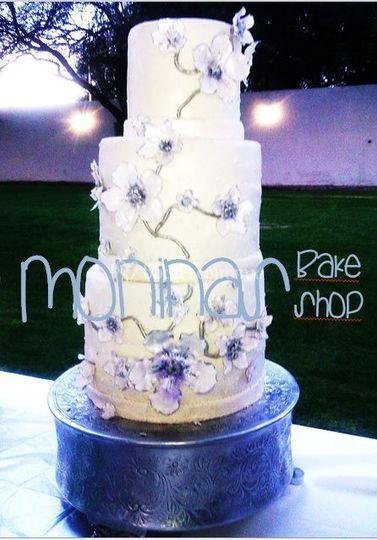 Pasteles florales de bodas
