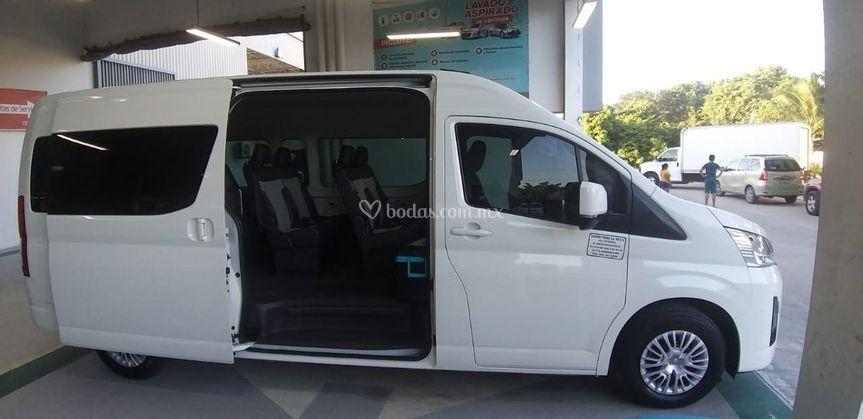 Capacidad 11 pasajeros