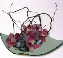 Arreglo floral zen