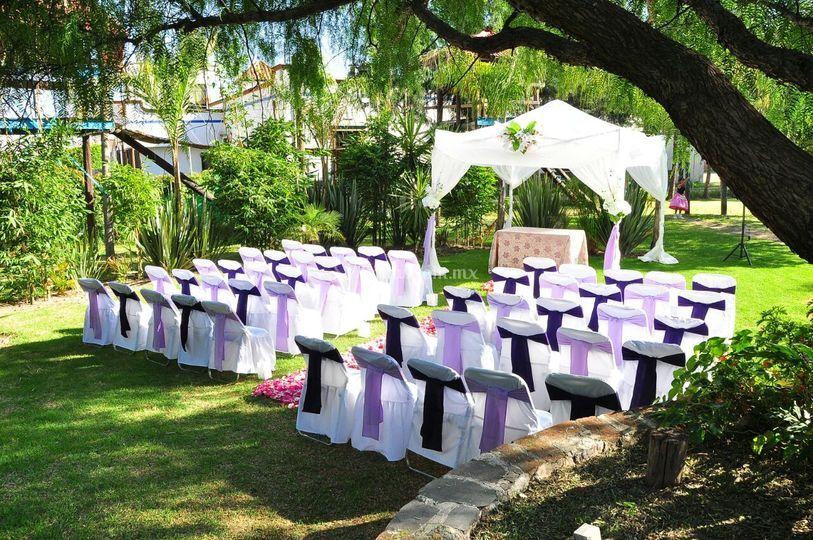 Jardines para ceremonias