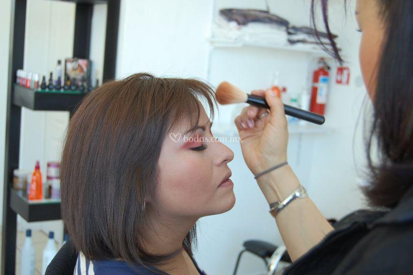 Maquillaje para evento social