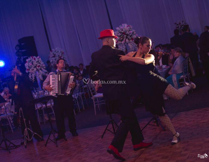 Show de tango en vivo