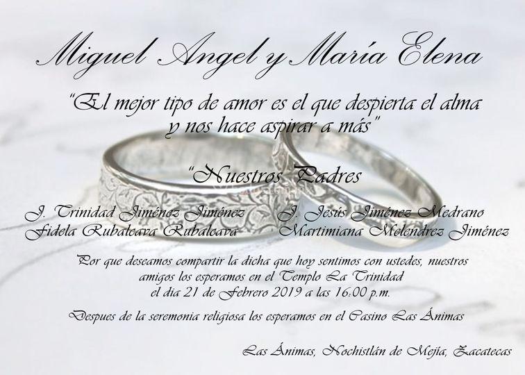 Efecto 20 Invitaciones