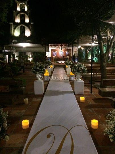 Ceremonia tarde-noche