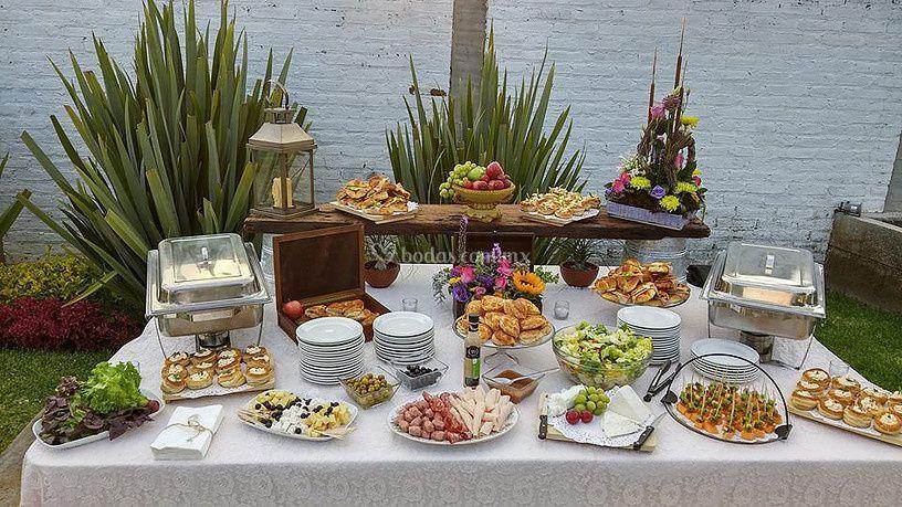 Buffet para bodas