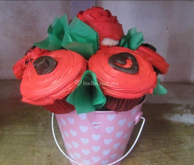 Florero de cakes
