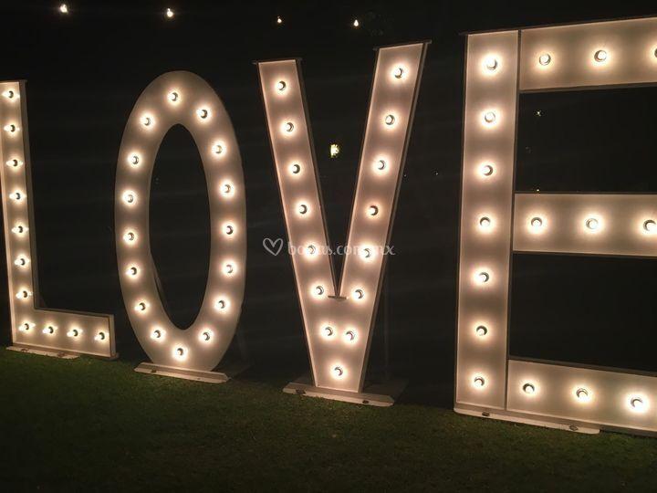 Letras love.