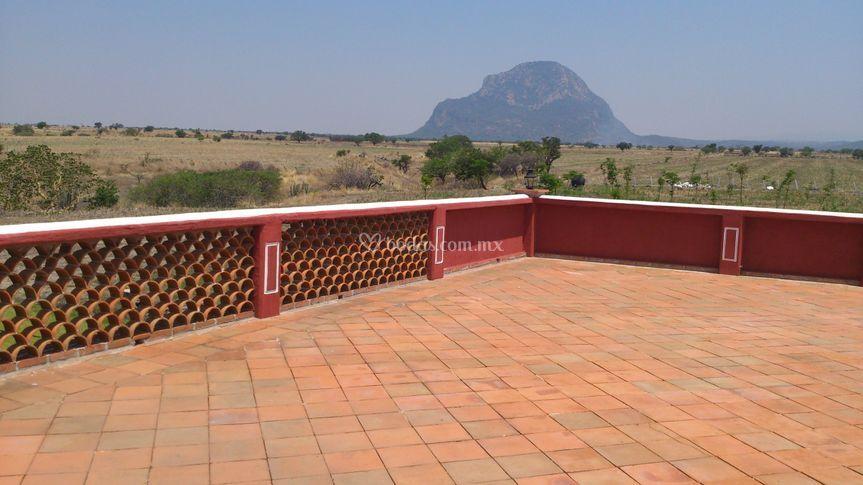 Terraza panoramica 100 m2