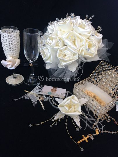 D'talles para tu boda en beige
