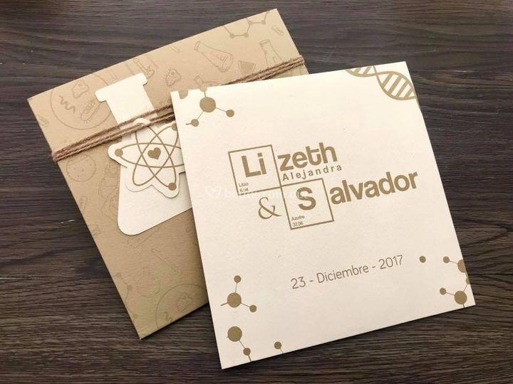 Lizeth & salvador / química