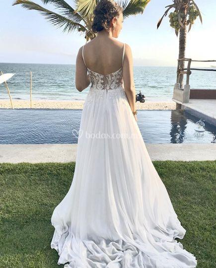 Vestido by dyana orona