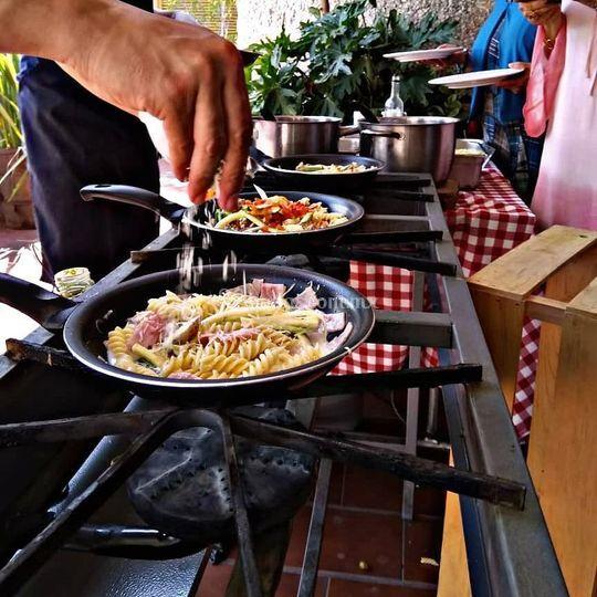 Show pasta