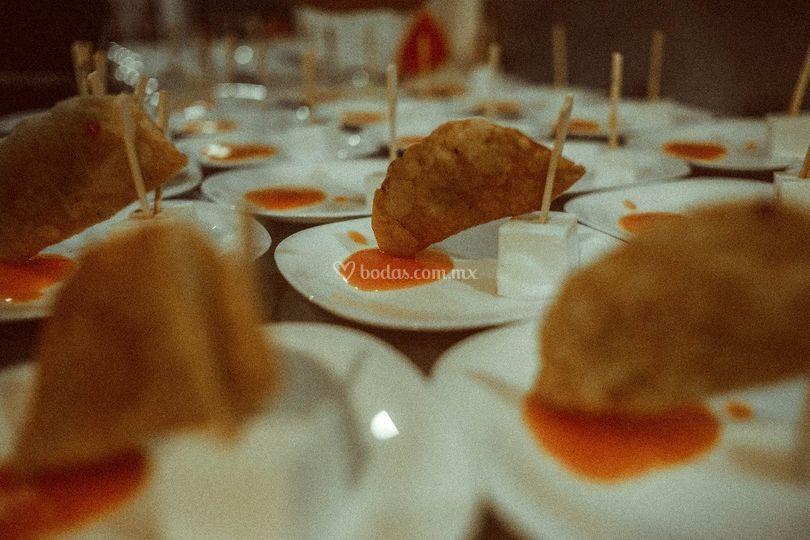 Empanaditas de minilla.
