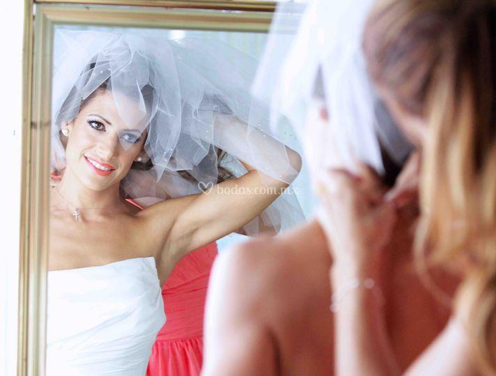 La novia bonita