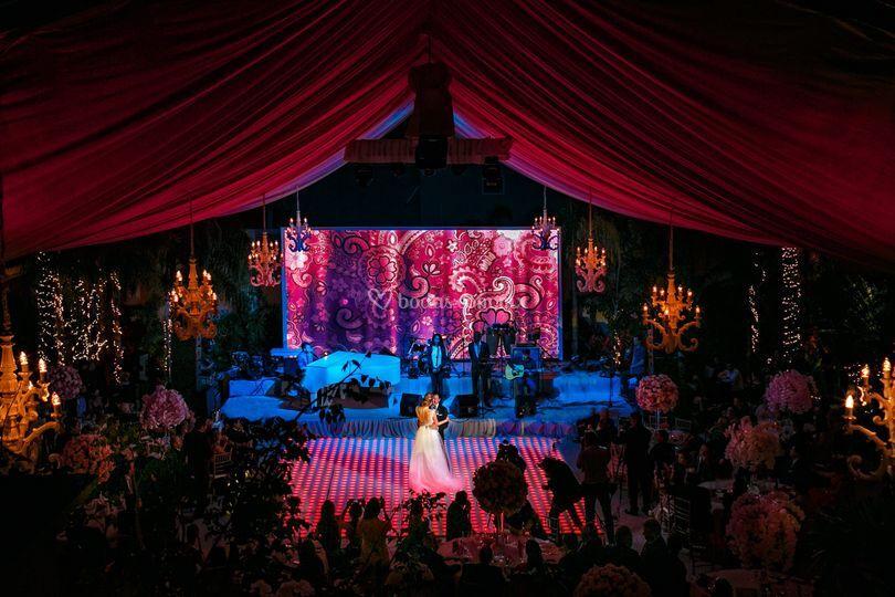 Producción para boda en Mérida