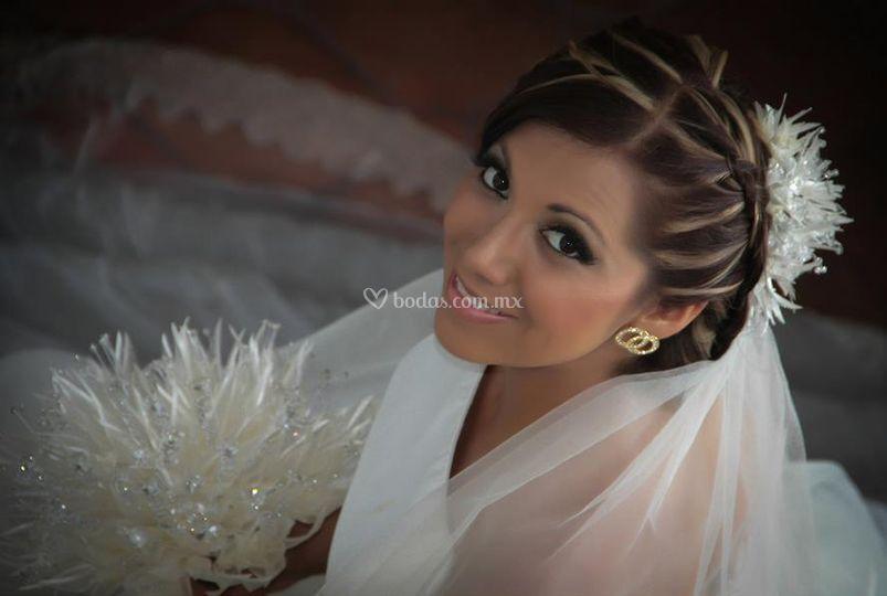 Bella en su boda