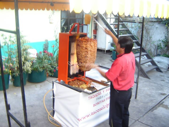 Tacos al Pastor Para Fiestas