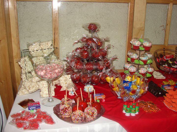 Variedad de dulces