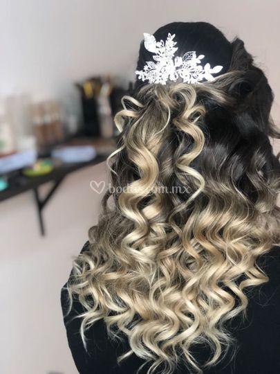 Peinados con elegancia