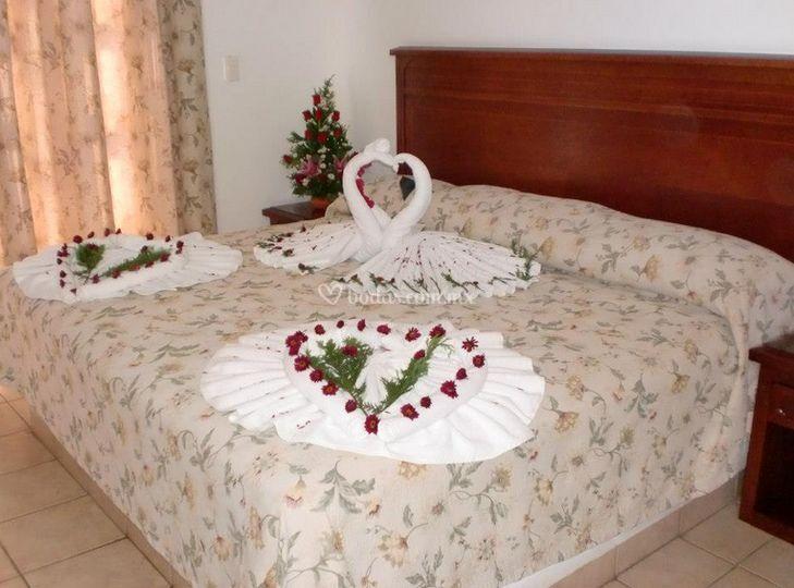 Habitación para recien casados