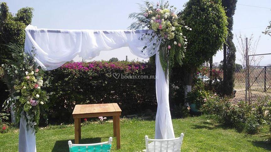 Espacio para boda civil