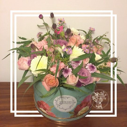 Flower garden box