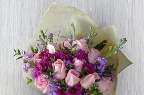 Guapa con Flores
