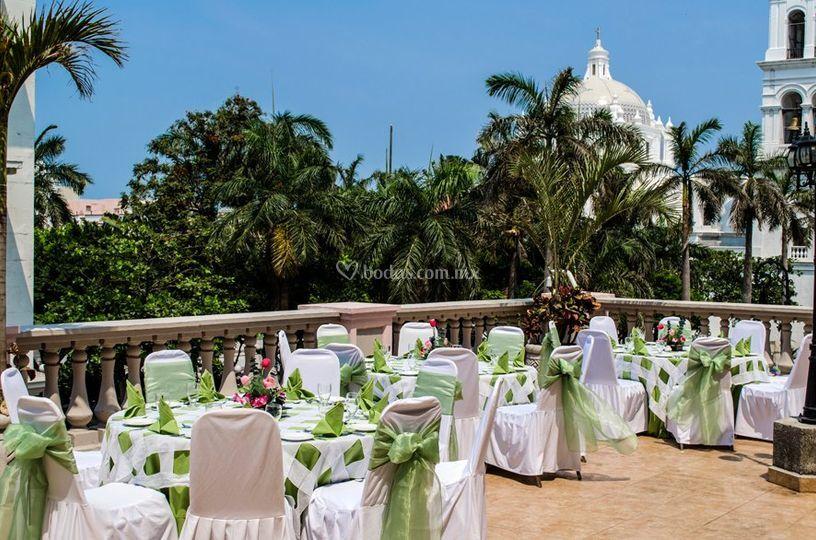 Banquete terraza 2