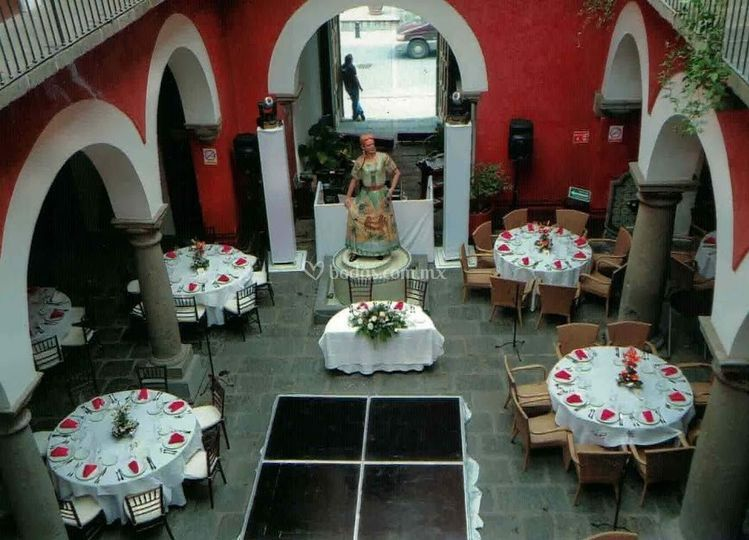 Salón patio