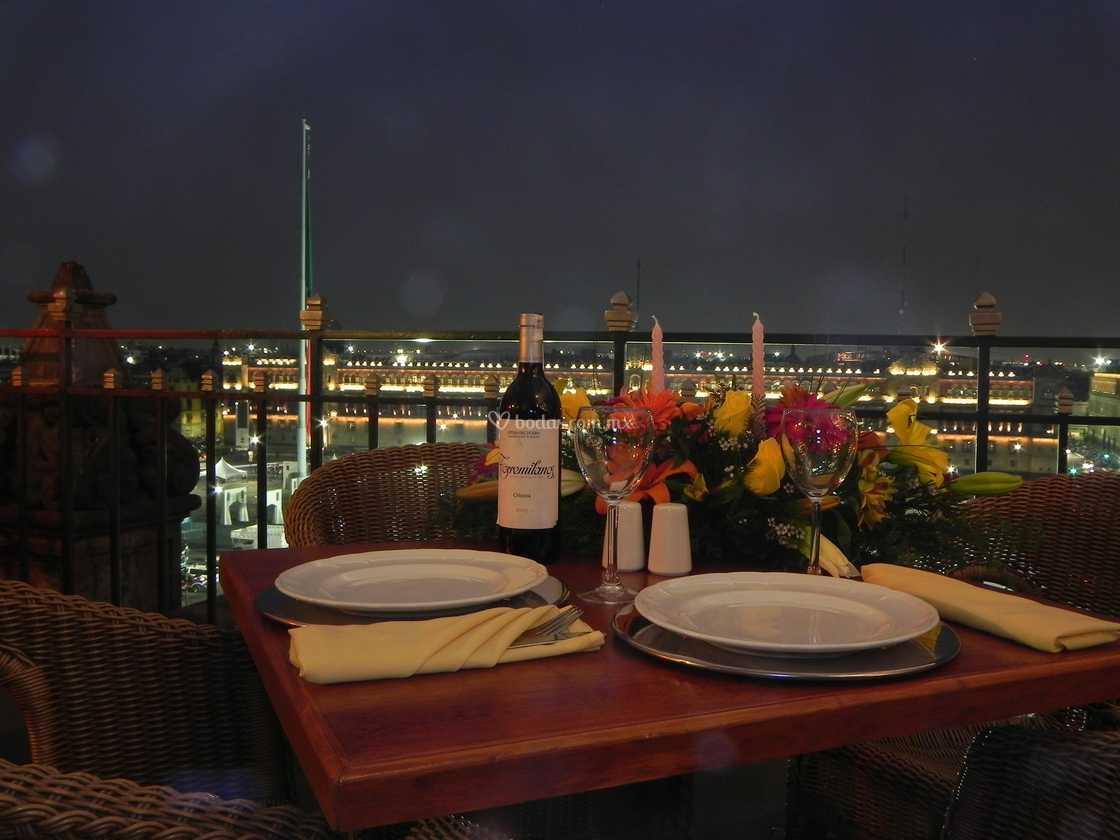 Vista Desde Terraza De Gran Hotel Ciudad De México Foto 22