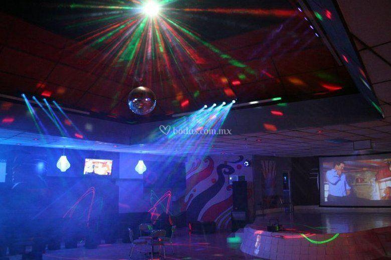 Iluminación para la fiesta