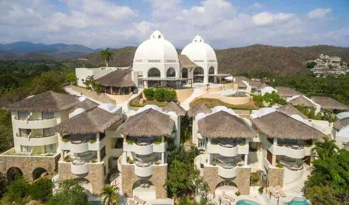 Vista aérea Quinta Real