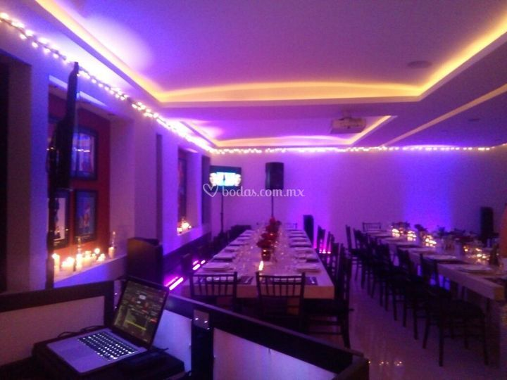 Lightmix eventos for Iluminacion ambiental