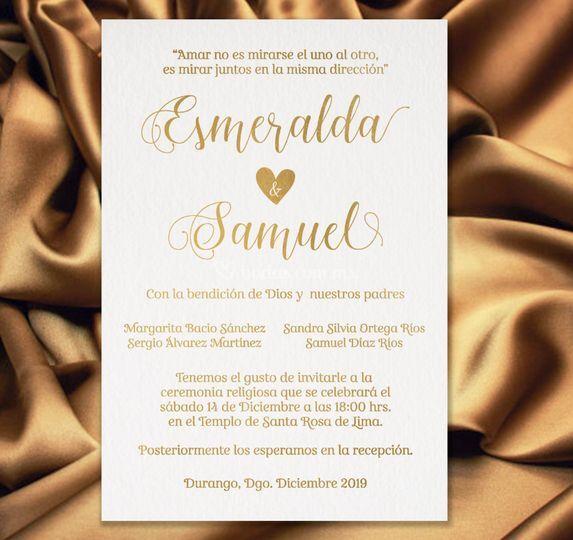 Invitación digital