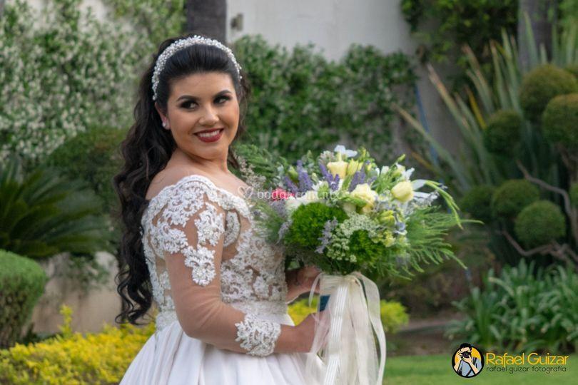 Tocado de la novia