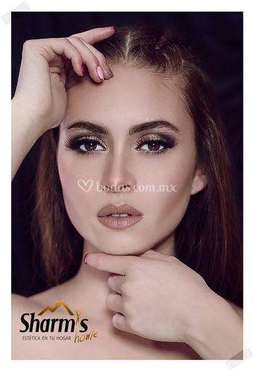 Maquillaje para sesión de foto