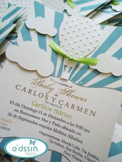 Invitaciones de distintas forma