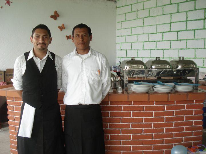 Servicio meseros