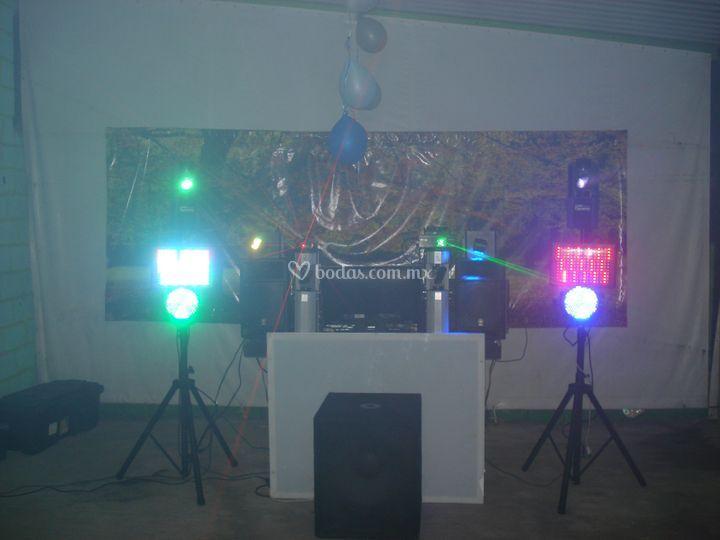 DJ / luz y sonido