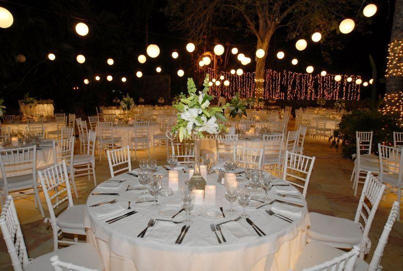 Silla Tiffany en banquete