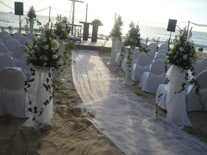 Playa exclusiva
