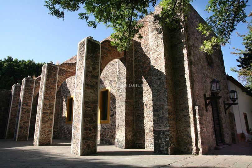 Ex capilla fachada