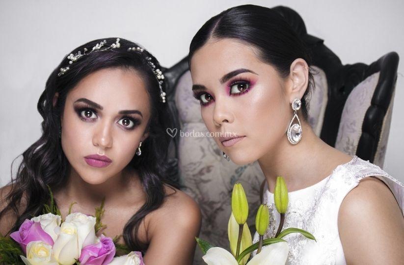 Maquillaje novia sat alta