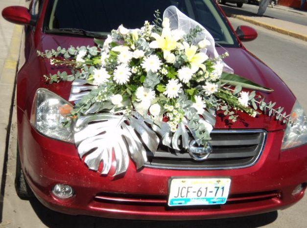 Arreglos para autos de bodas