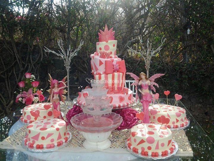 París pastel temático