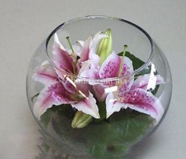Arreglo con orquídea