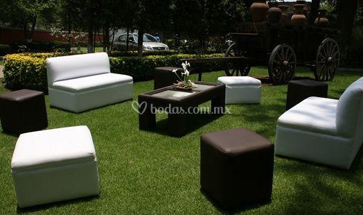 Mobiliario lounge cafés