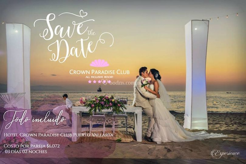 """Save the Date"" con Hotel Crow"