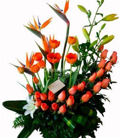 Hermoso Arreglo Floral De Florería María Cristina Foto 4